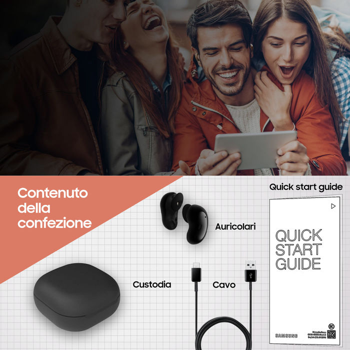 SAMSUNG Galaxy Buds Live Mystic White - thumb - MediaWorld.it
