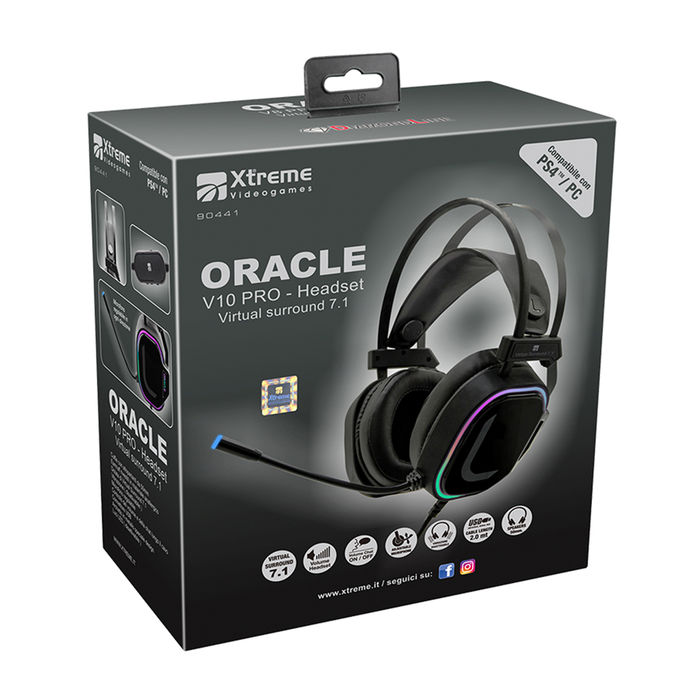 XTREME Cuffia Gaming 7.1 Oracle - thumb - MediaWorld.it