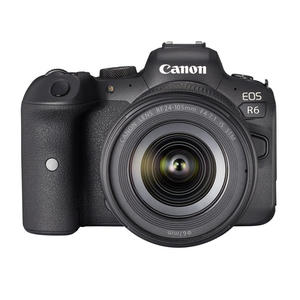 CANON EOS R6+RF24-105MM F4-7.1 BLACK - MediaWorld.it