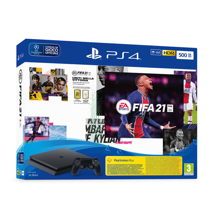 SONY PS4 500GB + FIFA 21 - thumb - MediaWorld.it
