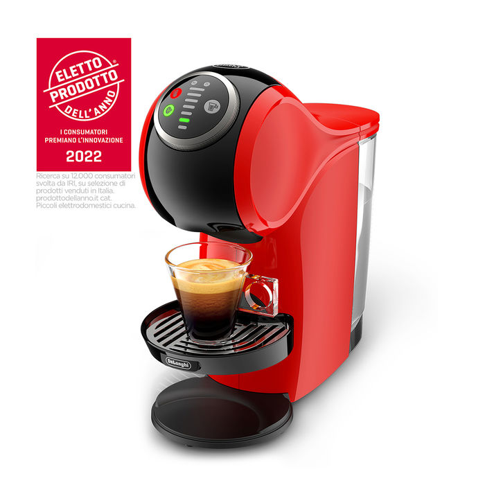 DE LONGHI NDG Genio S Plus EDG315.R Rossa - thumb - MediaWorld.it