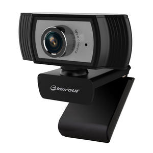 GLAM'OUR WEBCAM 2.0MPX BLK A229 - thumb - MediaWorld.it
