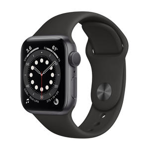 APPLE Watch Series 6 GPS 40mm in alluminio grigio siderale - Sport Nero - MediaWorld.it