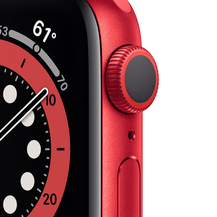 APPLE Watch Series 6 GPS 40mm in alluminio PRODUCT(RED) - Sport PRODUCT(RED) - thumb - MediaWorld.it