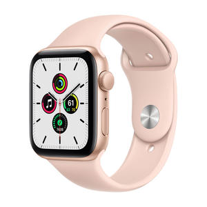 APPLE Watch SE GPS 44mm in alluminio oro - Sport Rosa sabbia - MediaWorld.it