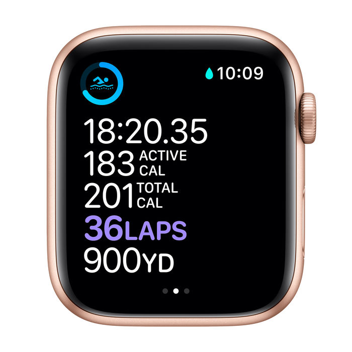 APPLE Watch Series 6 GPS+Cellular 44mm in alluminio oro - Sport Rosa sabbia - thumb - MediaWorld.it