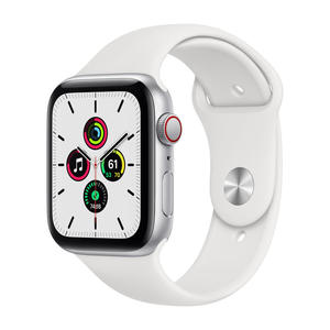 APPLE Watch SE GPS+Cellular 44mm in alluminio argento - Sport Bianco - MediaWorld.it