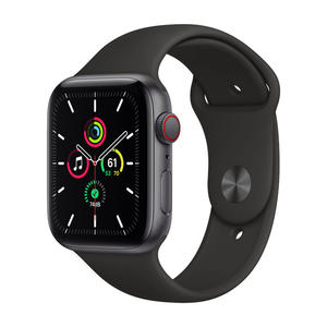 APPLE Watch SE GPS+Cellular 44mm in alluminio grigio siderale - Sport Nero - MediaWorld.it