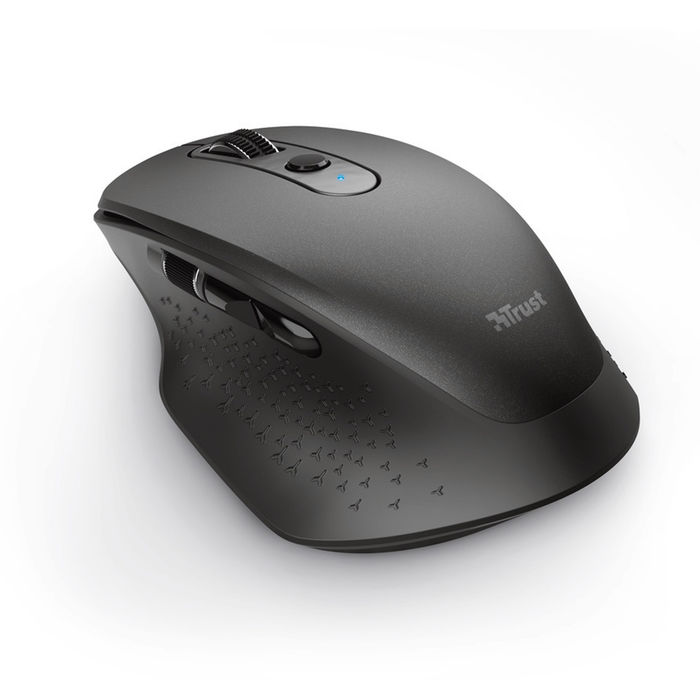 TRUST OZAA RECHAR. MOUSE BLACK - thumb - MediaWorld.it