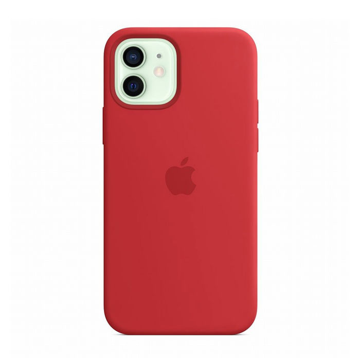 APPLE Custodia MagSafe in silicone per iPhone 12/12 Pro - (PRODUCT)RED - thumb - MediaWorld.it