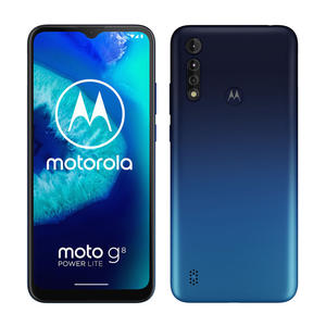 MOTOROLA Moto G8 Power Lite Royal Blue - MediaWorld.it