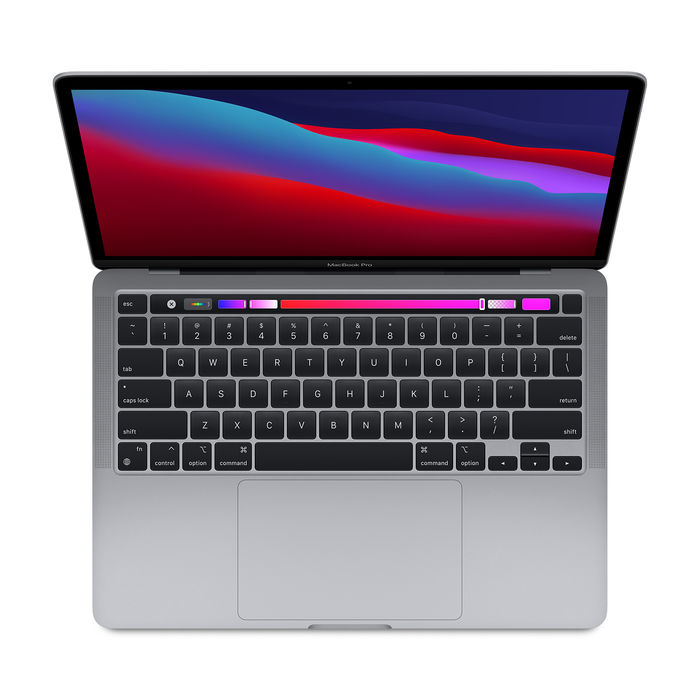 APPLE MacBook Pro 13'' 512GB (Chip Apple M1) Grigio Siderale MYD92T/A 2020 - thumb - MediaWorld.it