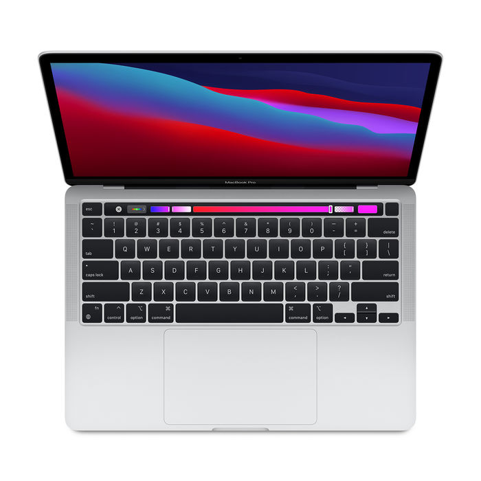 APPLE MacBook Pro 13'' 256GB (Chip Apple M1) Argento MYDA2T/A 2020 - thumb - MediaWorld.it