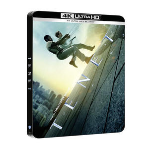 Tenet - Blu-Ray  UHD Steel Book - MediaWorld.it