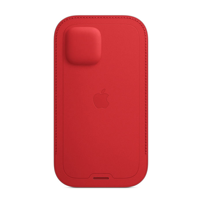 APPLE Custodia a tasca MagSafe in pelle per iPhone 12 Pro Max - (PRODUCT) RED - thumb - MediaWorld.it