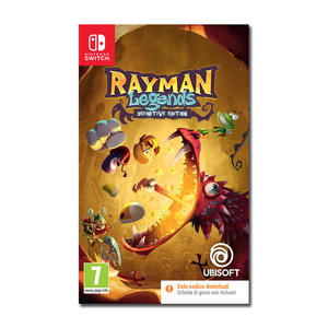 Rayman Legends (Definitive Edition) CODE IN  A BOX - NSW - MediaWorld.it