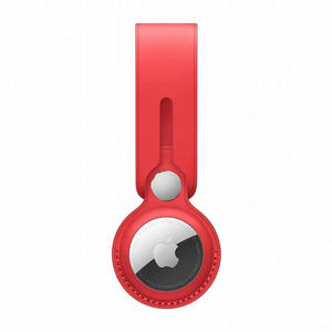 APPLE Laccetto AirTag in Pelle - (PRODUCT)RED - MediaWorld.it