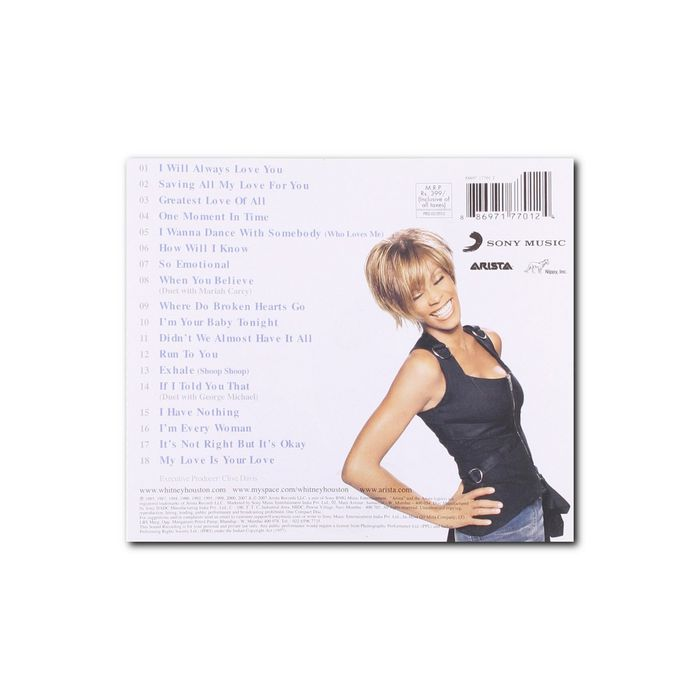 Whitney Houston - The Ultimate Collection - thumb - MediaWorld.it