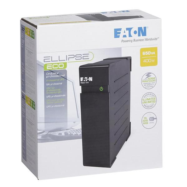 EATON ELLIPSE ECO 650VA DIN - thumb - MediaWorld.it