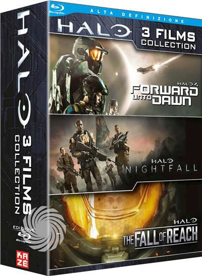 Halo - Forward Unto Dawn / Nightfall / The Fall Of - Blu-Ray - thumb - MediaWorld.it