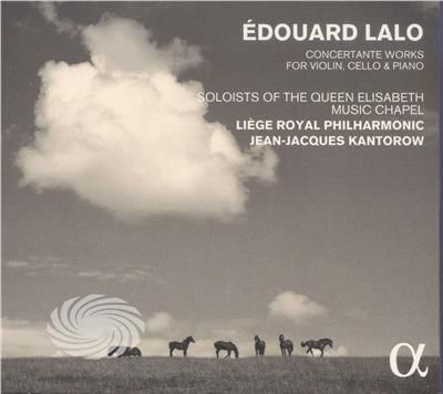 Lao,Edouardo / Liege Royal Philharmonic - Edouard Lalo: Concertante Works For Violin Cello - CD - thumb - MediaWorld.it
