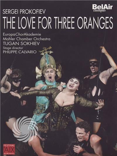 Sergei Prokofiev - The love for three oranges - DVD - thumb - MediaWorld.it