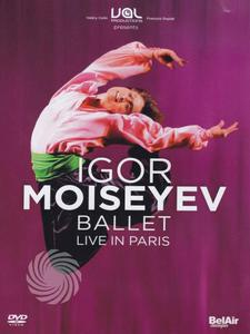 Bolshoi Theatre Ballet, Igor Moiseyev, Academic Folk Dance Ensemble - Igor Miseyev - Ballet - Live in Paris - DVD - MediaWorld.it