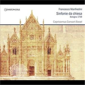 Manfredini / Capricornus Consort Basel - Sonate Da Chiesa - CD - thumb - MediaWorld.it