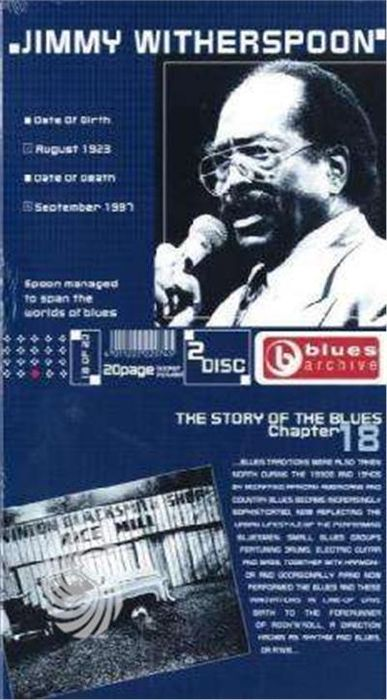 WITHERSPOON, JIMMY - BLUES ARCHIVE 18 - CD - thumb - MediaWorld.it