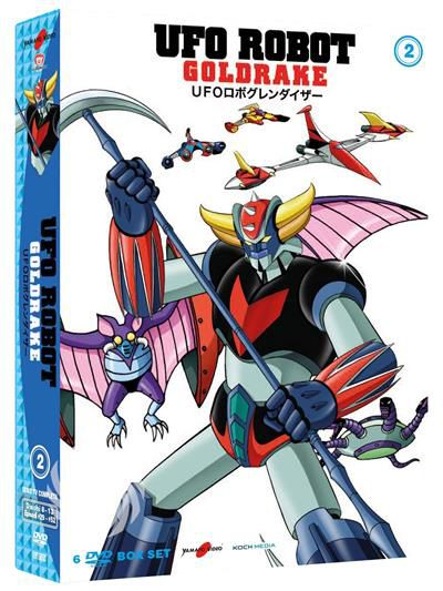 UFO ROBOT GOLDRAKE - DVD - thumb - MediaWorld.it