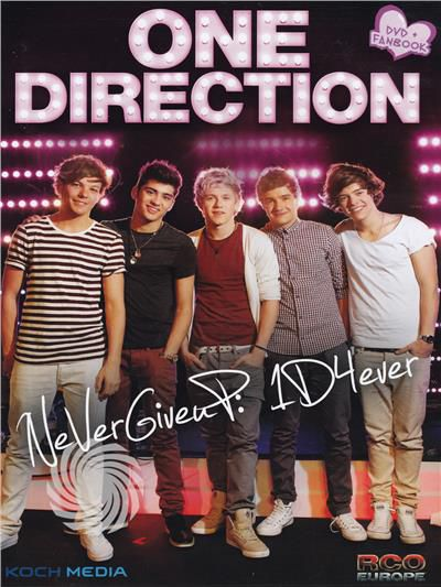 One Direction - NeVerGiveuP: 1D4ever - DVD - thumb - MediaWorld.it