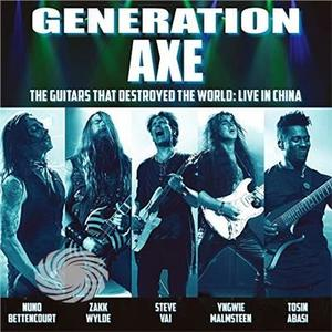 Vai / Wylde / Malmsteen / Bettencourt / Abasi - Generation Axe: Guitars That Destroyed That World - CD - MediaWorld.it