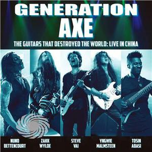 Vai / Wylde / Malmsteen / Bettencourt / Abasi - Generation Axe: Guitars That Destroyed That World - Vinile - thumb - MediaWorld.it