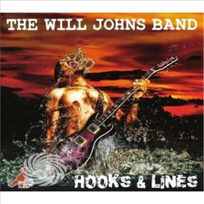 Johns,Will Band - Hooks & Lines - CD - thumb - MediaWorld.it