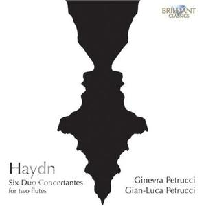 Haydn, Joseph / Petrucci,Ginevra - Six Duo Concertantes For Two Flutes - CD - thumb - MediaWorld.it