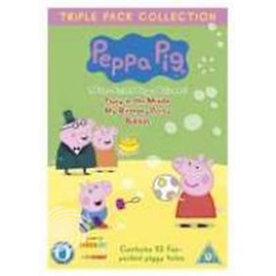 Peppa Pig Middle/Party/Bubbles - DVD - thumb - MediaWorld.it