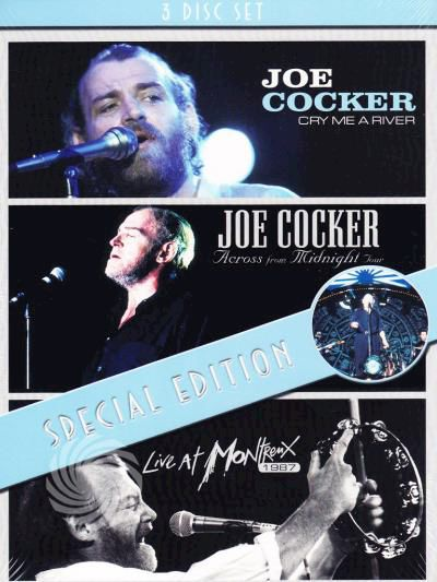 Joe Cocker - Cry me a river + Across from Midnight tour + Live at Montreux 1987 - DVD - thumb - MediaWorld.it