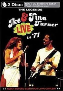 Ike & Tina Turner - The legends - Live in '71 - DVD - thumb - MediaWorld.it