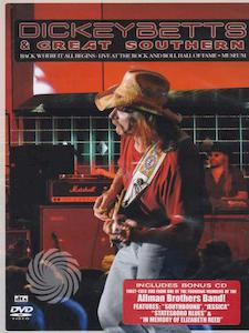 Dickey Betts and Great Southern: Back where it all begins - Live at the rock and roll hall of fame + Museum - DVD - thumb - MediaWorld.it
