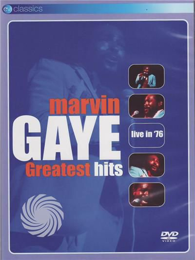 Marvin Gaye - Greatest hits - live in '76 - DVD - thumb - MediaWorld.it