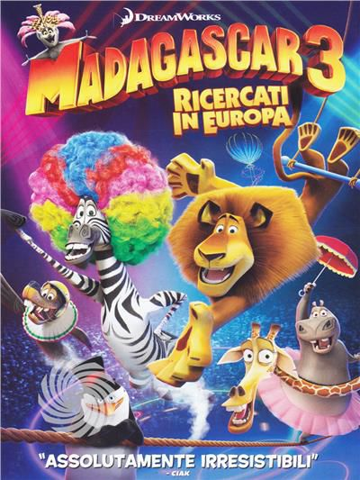 Madagascar 3 - Ricercati in Europa - DVD - thumb - MediaWorld.it