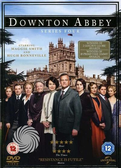 Tv Series-Downton Abbey - Series 4 - DVD - thumb - MediaWorld.it