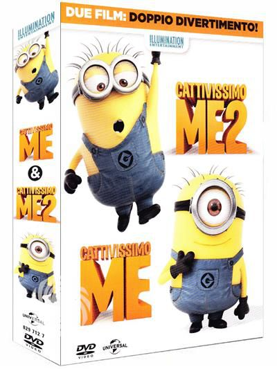 Cattivissimo me & Cattivissimo me 2 - DVD - thumb - MediaWorld.it