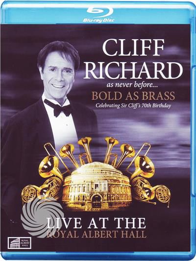 Cliff Richard - As never before - Bold as Brass - Live at the Royal Albert Hall - Blu-Ray - thumb - MediaWorld.it