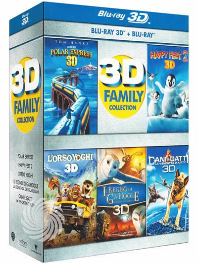3D family collection - Blu-Ray  3D - thumb - MediaWorld.it