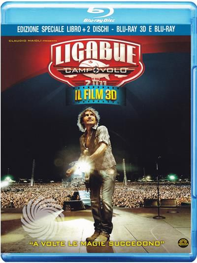 Ligabue - Campovolo - Il film 3D - Blu-Ray  3D - thumb - MediaWorld.it