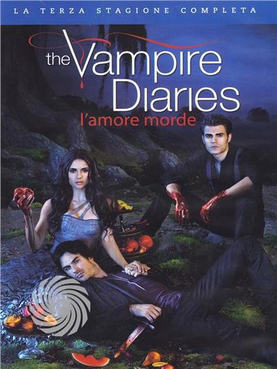 The vampire diaries - L'amore morde - DVD - Stagione 3 - thumb - MediaWorld.it