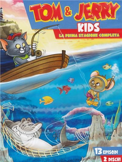 Tom & Jerry - Kids show - DVD - Stagione 1 - thumb - MediaWorld.it