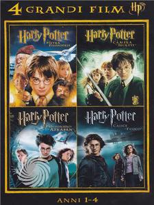 4 grandi film - Harry Potter - Anni 1-4 - DVD - thumb - MediaWorld.it