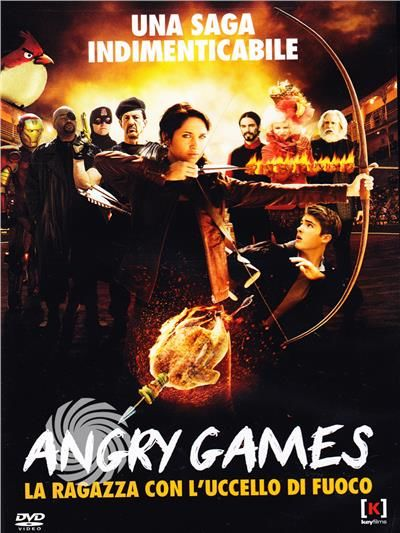 Angry games - La ragazza con l'uccello di fuoco - DVD - thumb - MediaWorld.it